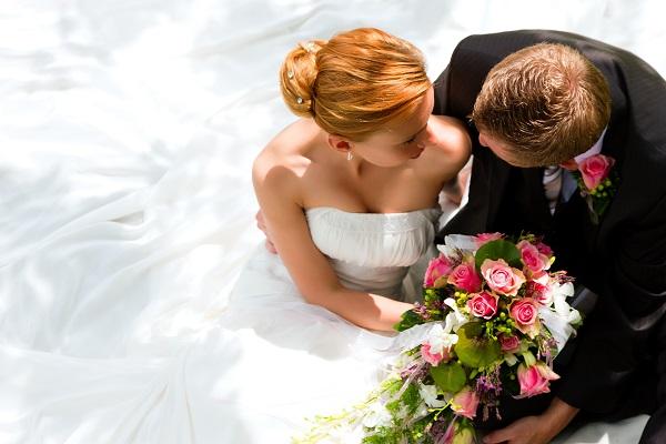 Personnalisation mariage d'un photophore en verre